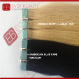 D Color Best Remy Human Hair Tape in Extensions