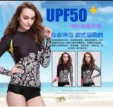 Quick Dry Women′s Lycra Swimwear&Digital Printed Wetsuit (C722)