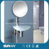 Toilet Tempered Glass Wash Basin with Certificate