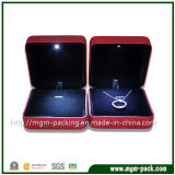 Simple Design Red LED Jewellery Box for Packing