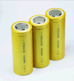 Ifr26650 3.2V 3200mAh Rechargeable LiFePO4 Battery