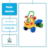 Customized Plastic Products Children Kids Plastic Toy Cart Injection Tool