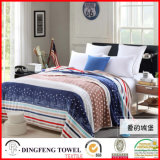 2016 New Season Coral Fleece Blanket with Printed Df-8836