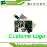 Promotion Custom Business Card USB Flash Drive with Free Logo