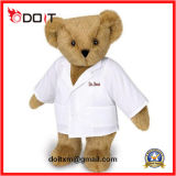 Custom Cuddle Christmas Teddy Bear Baby Soft Stuffed Animal Kids Plush Toy