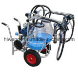 Clear Bucket Mobile Milking Machine for Cows
