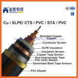 8.7/15kv Medium Voltage XLPE Power Cables Single Core Copper Cables