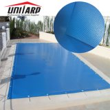 Weather Proof Outdoor PVC Tarp Fabrics for in-Ground Swimming Pool Solid Safety Covers Winter Cover