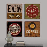Cheap Wooden 3D Home Metal Word Wall Hanging Decor Arts