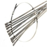 Waterproof Stainless Steel Metal Zip Ties for Use in Power Industry