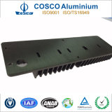 Black Anodized Aluminum Heatsink for Intrdustrial Appliance