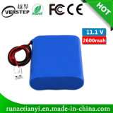 OEM Rechargeable 18650 2600mAh 11.1V Lithium Ion Battery