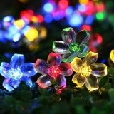 50LED Solar Power Strip Light, Christmas LED Lights, with New Model.