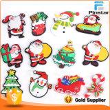 Free Mold 3D Christmas Soft PVC Rubber Fridge Magnet