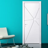 Oppein White Matte Lacquer Finish Wood Veneer Interior Door (MSPD23)