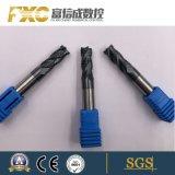 HRC45 4 Flute Rough Carbide Square Milling Cutter