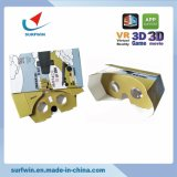 Portable and Foldable Google Cardboard 3.0 Vr Glasses for Promotion