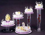 Round Acrylic Cake Separator for Wedding or Party