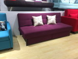 Two Seats Sofa Bed with Storage Leisure Sofa Sets Functional