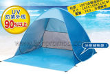 Summer Beach Fishing Leisure Anti UV Coating 2 Person Auto Open Camping Tent