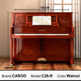 Flexible 126cm Upright Piano Music Instrument
