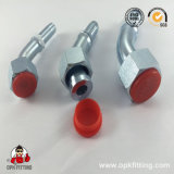 45° Metric Female Flat Seat Hydraulic Pipe Fitting (20241, 20241T)