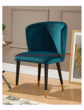 (SP-EC202) High Quality Cheap Price Soild Wood Chair High Back Chairs with Velvet Fabric