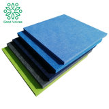 Cheap Absorption Material 100% Polyester Fiber Acoustic Wall Panel Sound Absorbing Baffle Pet Recyclable Plastic Product