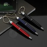 Cheap Colorful Promotional Metal Pen Bulk Ballpoint Pens with Chain