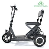 Greenpedel 36V 300W Wholesale Adult 3 Wheel Folding Electric Mobility Scooter