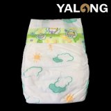 Baby Diaper with PE Back Film