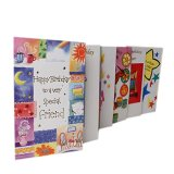 Greeting Cards Custom Printing with Colorful Design, Paper Material Made