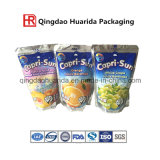 Food Grade Stand up Liquid Packaging Plastic Bag with Spout for Juice Drinking
