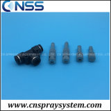 Push Lock Misting Spray Nozzle Low Pressure Fog Nozzle