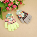 Embroidered Children Gloves Custom Color