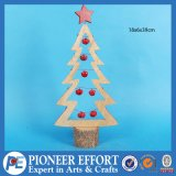 Wooden Christmas Tree with Jingle Bell for Christmas Decor