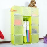 Green Plastic DIY Storage Cbinet with Many Colors Available (FH-AL0041-9)