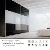 White and Black Sliding Door Wardrobe (ZH0058)