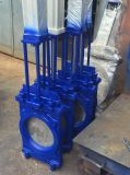 Dn1800 Industrial Ductile Iron and Stainless Steel Knife Gate Valve