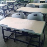 School Furniture Double School Desk and Chair Sf-32D