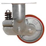 Good Price Polyurethane Rubber Wheel Spring Swivel Fixed Caster