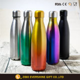 Customized Drinkware Cola Double Wall Stainless Steel Bottle