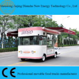 Double Shelters Food Truck Van for Selling Cakes and Biscuit (CE)