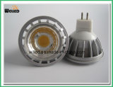5W 12V Gu5.3 Base High Power Alluminum Alloy LED COB MR16 Spotlight Lamp for Indoor Use with Ce & RoHS