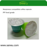 Single Serve Coffee Pods for Nesoresso with Foil Seal