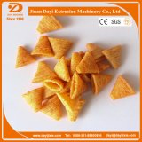 Fried Wheat Flour Puff Snack Process Line Food Extruder Machine with Packing Machine