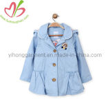 Outer Wear Sport Running Jacket with Small Applique