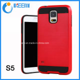 PC+TPU Slim Armor Mobile Phone Case for Samsung S5