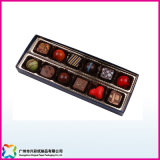 Valentine Gift Cake/Candy/Chocolate Packaging Box with Plastic Lid (XC-10-001)