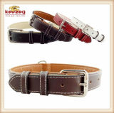 Quality Handmade Pet Leather Collars/for Medium and Big Dog (KC0130)
